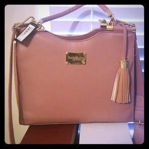 Bebe Natalie Shopper purse